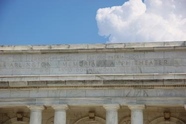 Memorial_Amphitheater_-_rear_pediment_-_Arlington_National_Cemetery_-_2011