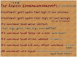 AnimalFarmCommandments